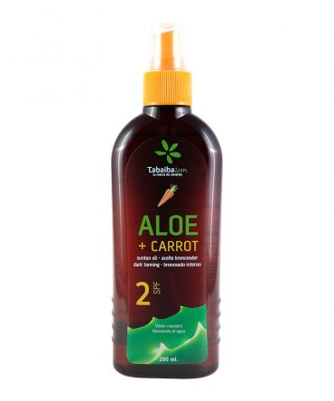 SPF 2 Water Resistant Carrot Tanning Oil